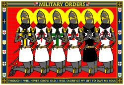 Military Orders Praying Poster_William Marshal Store.com